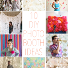 10 DIY Photo Booth Ideas - a roundup