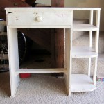 shabby chic desk makeover