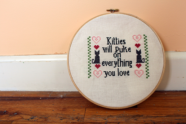 Kitties Cross Stitch