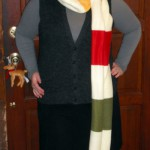 how to make a long scarf [tutorial]