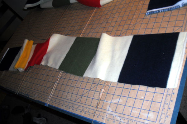How to Make a Long Scarf Tutorial