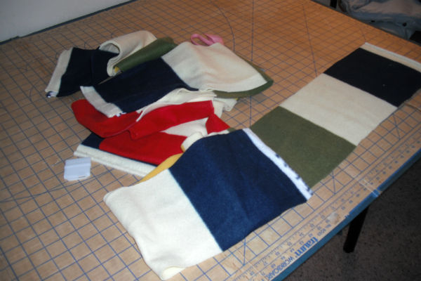 How to Sew a Long Scarf Tutorial