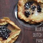 blueberry dutch baby pancakes