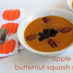 butternut squash soup + food blogging thoughts