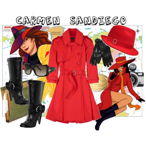 Carmen Sandiego  sc 1 st  a week from thursday & my top halloween costume picks - a week from thursday