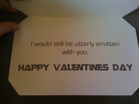 cylon Nerdy Valentine's Day Card