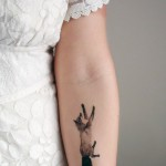 pretty things: fox temporary tattoo