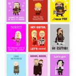 nerdy Valentine's Day cards