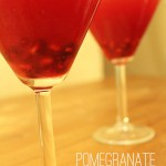 make a pomegranate martini