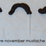 celebrate no-shave november with mustache lollipops