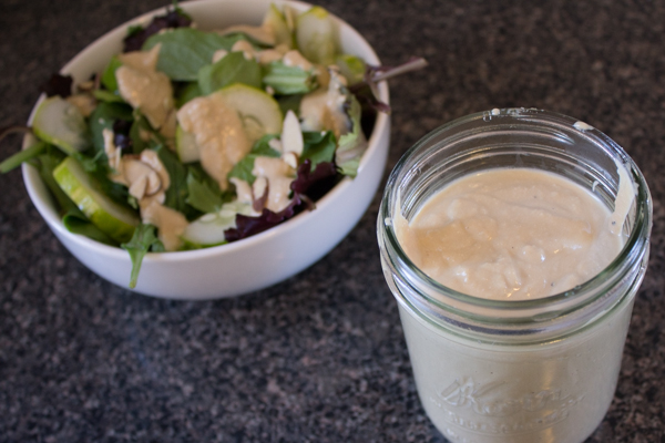 tofu garlic dressing