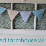 shabby chic decorating: farmhouse window tutorial