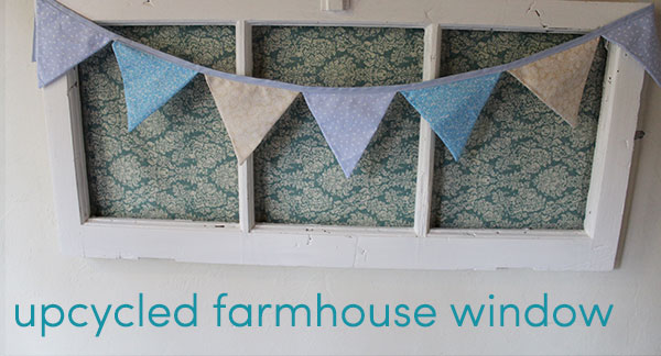 upcycled farmhouse window