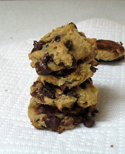 vegan banana chocolate chip cookies - a week from thursday
